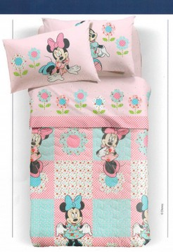 Minnie Patchwork copriletto caleffi